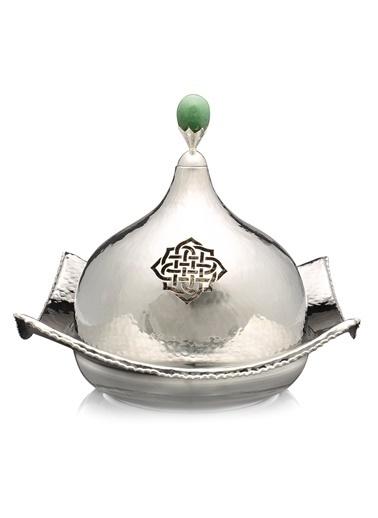 Decoristan Çoruşuhlu Gümüş Kaplama Sahan Gümüş